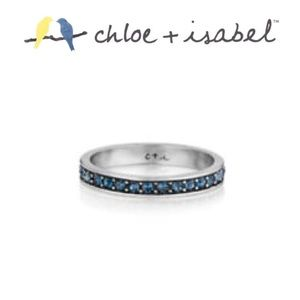 Sapphire Birthstone Ring - Chloe + Isabel